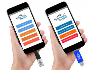 PhotoStick Mobile USB flash drive