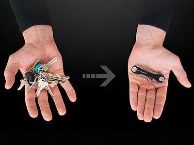 diferencias key smart llavero y keychain
