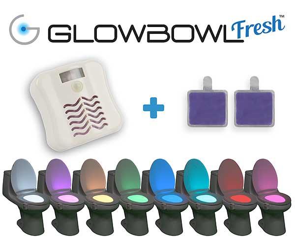 glowbowl wc led com è e cosa include