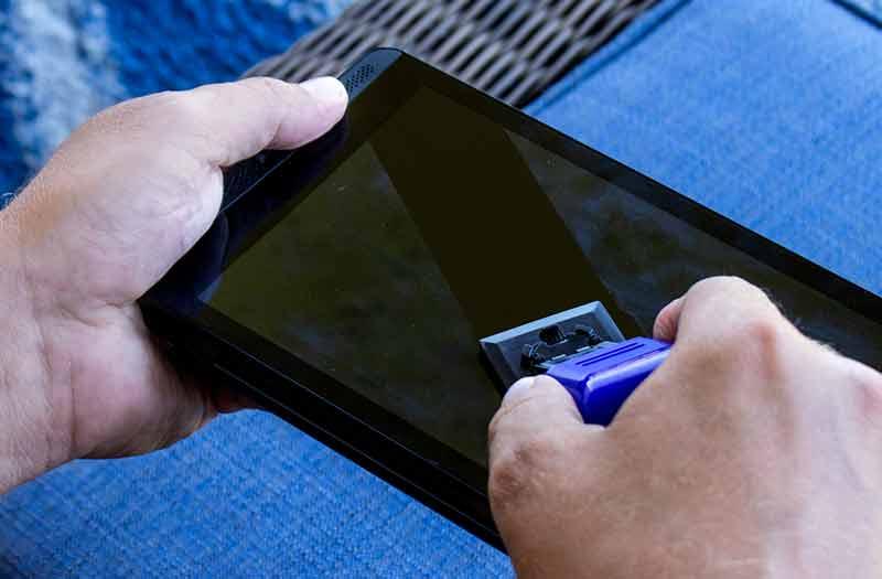 nettoyer ecran tv smartphone tablet ordinateur