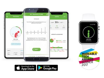 corrector postural app