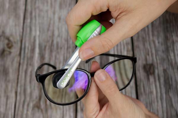 brille reinigen