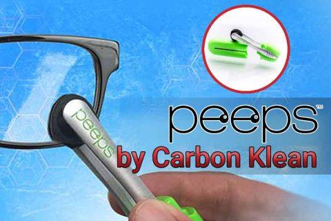 peeps glasses cleaner