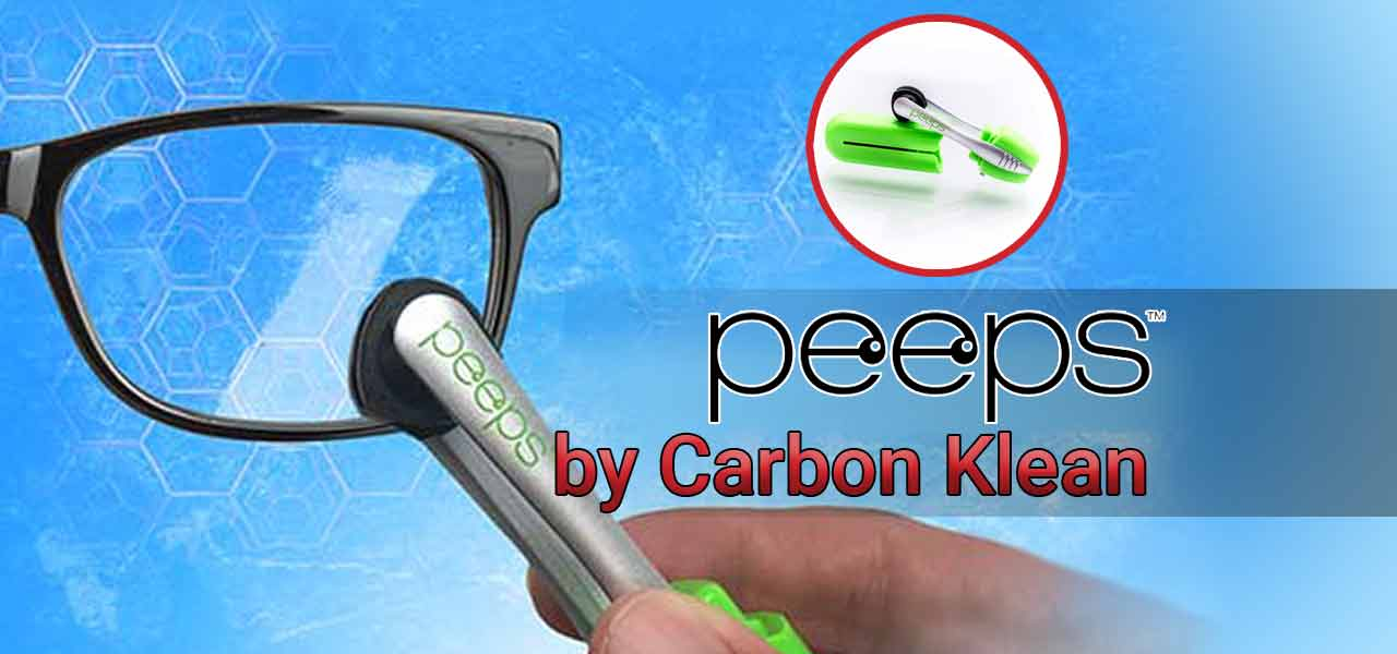 peeps glasses cleaner