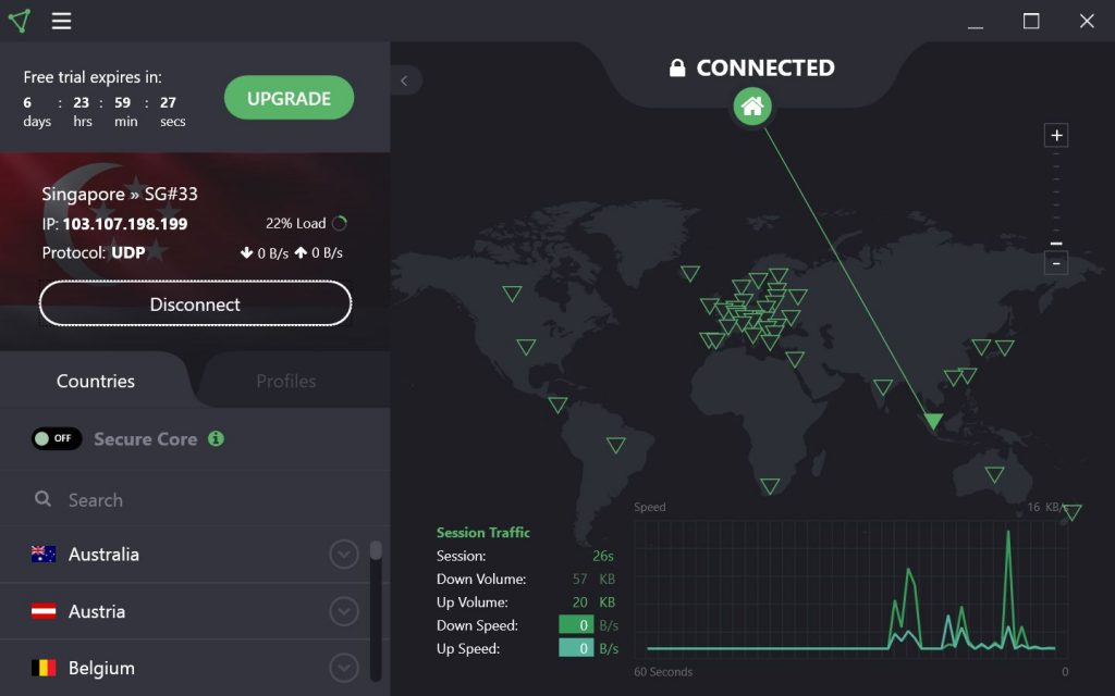 proton vpn interface