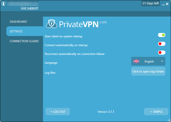 private vpn options