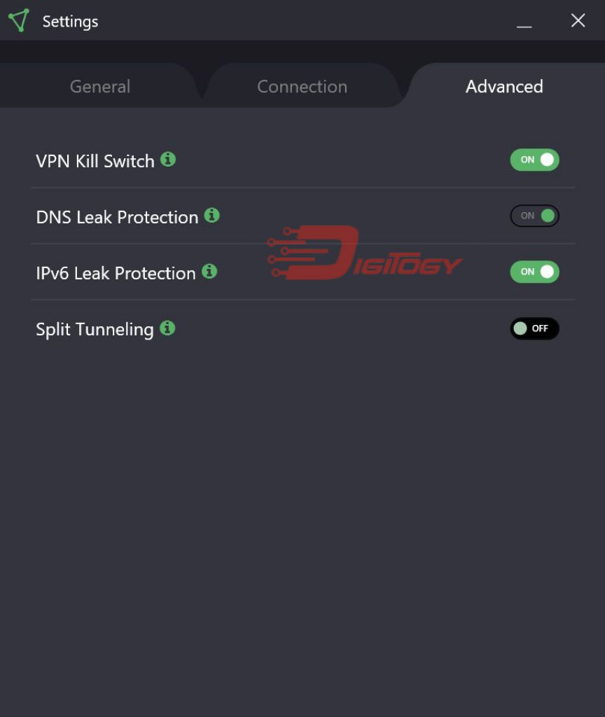 protonvpn settings