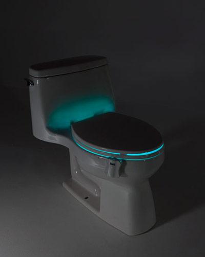 glow bowl toilet