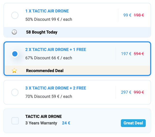 tactic air drone