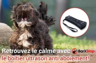 BarxStop, la boîte à ultrason pour dresser votre chien