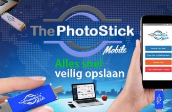 ThePhotostick mobiele snel alles opslaan