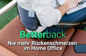 Better Back: Nie mehr Rückenschmerzen im Home Office