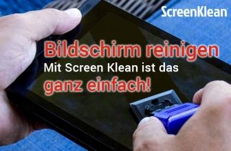 ScreenKlean Bewertung: Nie mehr Schlieren auf dem Display