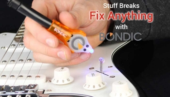 My Review on Bondic Liquid Plastic Welding