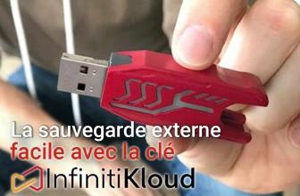 InfinitiKloud, le savant mélange de clé usb et de cloud