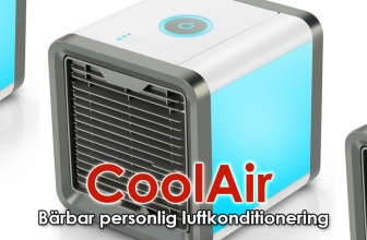 CoolAir AC Recension 2021: Bärbar luftkonditionering
