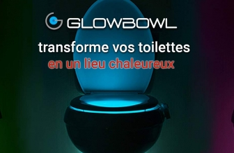 Glow Bowl, le luminaire WC d'ambiance
