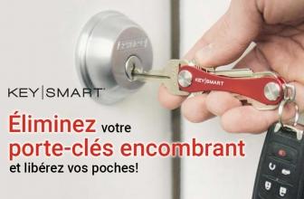Notre avis sur le porte clé KeySmart en forme de couteau suisse