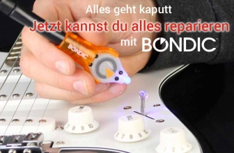 Bondic UV Kleber: Der Helfer in der Not