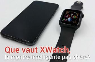 Montre Xwatch : connectée et à un prix accessible