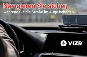 VIZR Head up Display: Für mehr Sicherheit beim Autofahren