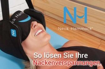 Neck Hammock die Hals Hängematte: So lösen Sie Ihre Nackenverspannungen