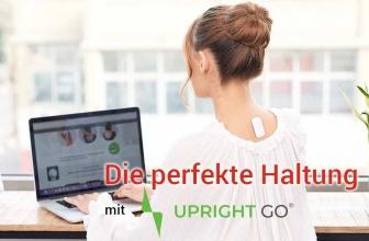 Upright Go: Der Haltungstrainer für einen geraden Rücken