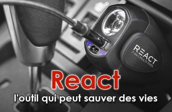 Notre avis sur React outil de survie voiture