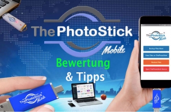 The Photo Stick mobile: So sichern Sie Ihre geliebten Fotos