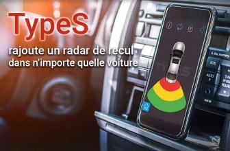 TypeS parking, le radar de recul à petit prix