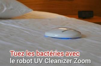 UV Cleanizer Zoom, le robot nettoyeur tueur de bactéries